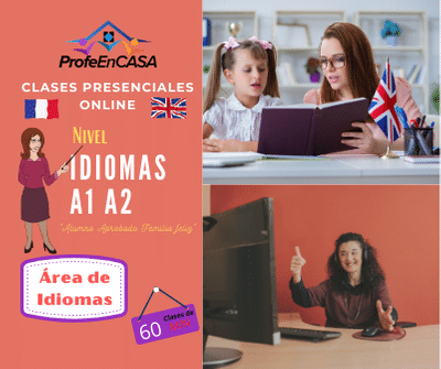 clases online ingles a1 a2