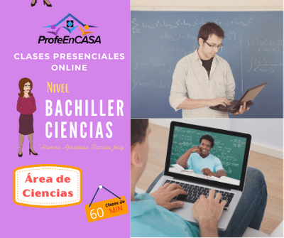 clases online bachiller 60 minutos