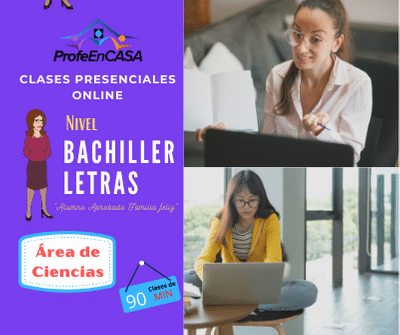 clases online bachiller letras
